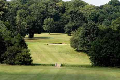 Whitewebbs Park Golf Course - 18 Hole Round of Golf for Two - Save 25%