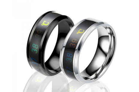 Your Ideal Gift - Unique temperature titanium steel ring - Save 0%