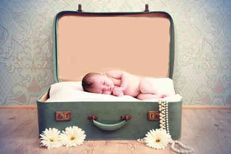 Xposure Studios - Newborn baby photoshoot including a 7 Inch x 5 Inch print - Save 87%