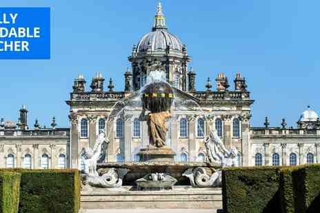 Castle Howard Estate - Entry to Castle Howard and gardens - Save 32%