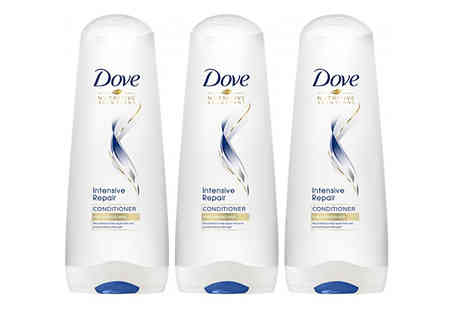 Ebeez - 200 or 350ml Dove Intensive Repair Conditioner Choose from 3 or 6 Pack - Save 31%