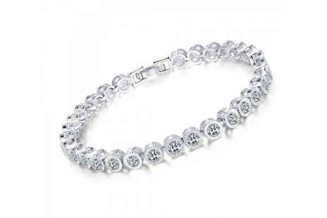 Your Ideal Gift - Rhodium plated bracelet - Save 0%