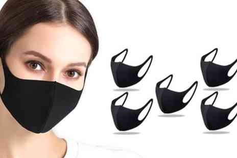 Groupon Goods Global GmbH - 5, 10 or 20 Sponge Breathable Face Masks - Save 0%