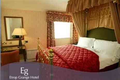 Etrop Grange Hotel - One Night Getaway for Two With Breakfast and Three Course Meal - Save 64%