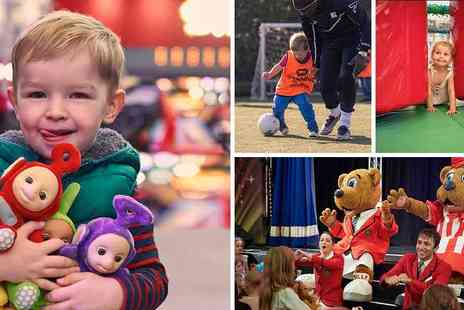 Butlins - Just for Tots Day Passes 40% off Flexi Tickets - Save 40%