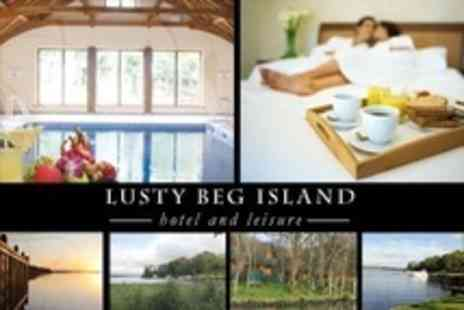 Lusty Beg Island - County Fermanagh Two Night Lakeside Stay For Two With Breakfast and Prosecco or Wine - Save 53%