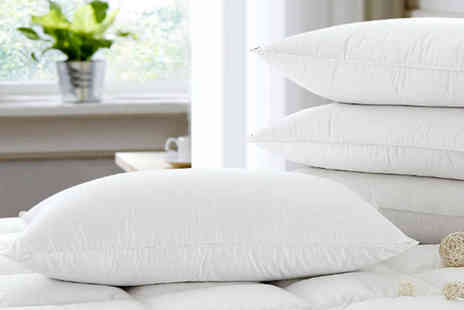 Direct Warehouse - Two pack of goose feather and down pillows - Save 74%