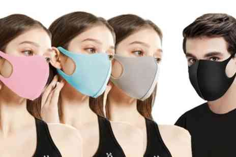 Groupon Goods Global GmbH - Four or Eight Washable Face Masks - Save 0%