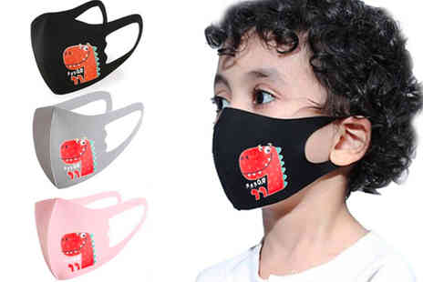 nuvens de fantasia lda - Kids soft face mask choose from three colours - Save 0%