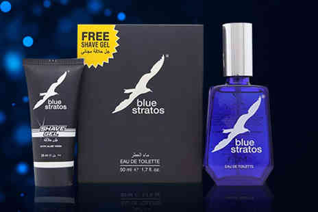 Wowcher Direct - Blue Stratos mens gift set - Save 21%