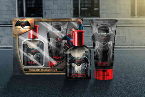 Wowcher Direct - Batman vs Superman 75ml EDT and 150ml body wash set - Save 33%