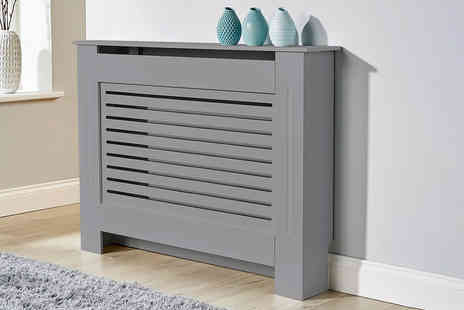 Furniture Deals - Standard medium York radiator cover choose from two colours - Save 76%