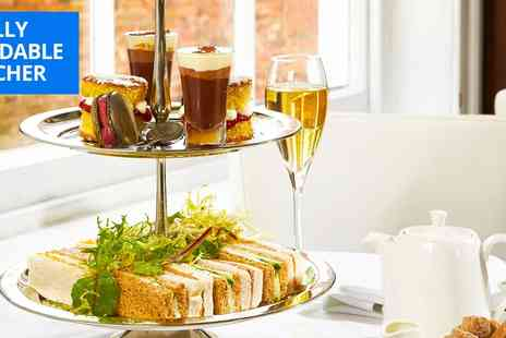 The Lace Market - Afternoon tea for 2 with bubbly - Save 48%