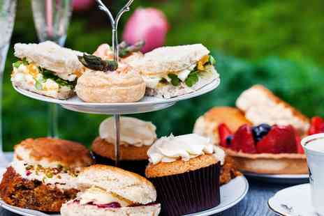 Rossett Hall Hotel - Sparkling afternoon tea for 2 - Save 53%