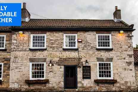 Bay Horse Goldsborough - North Yorkshire country inn stay - Save 72%