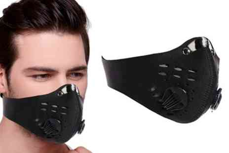 Groupon Goods Global GmbH - Up to Eight Double Filter Face Masks - Save 0%