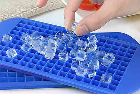 My Blu Fish - Silicone Mini Square Ice Cube Tray Choose from 4 Colours - Save 70%