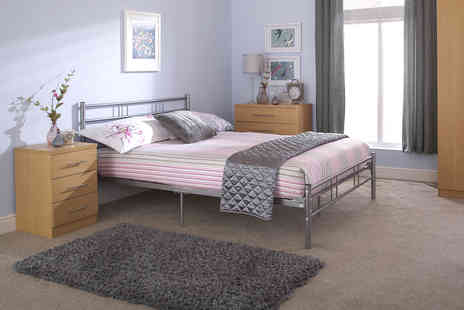 Wowcher Direct - Metal bed frame - Save 34%