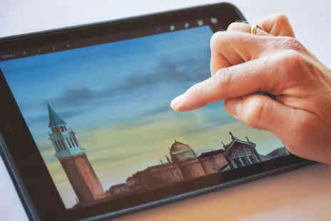 International Open Academy - Online Painting on your iPad course - Save 88%