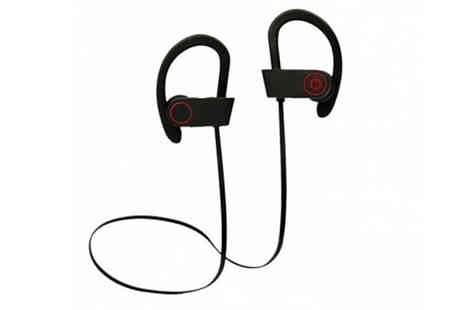 PinkPree - Bluetooth In-Ear Sports Headphones Choose from 2 Colours - Save 84%