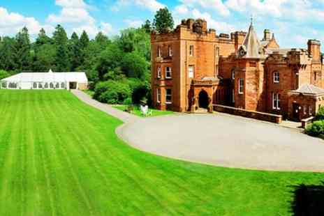 Friars Carse Hotel - Choice of Double Rooms for Two with Breakfast, 2 Course Dinner with Wine - Save 30%