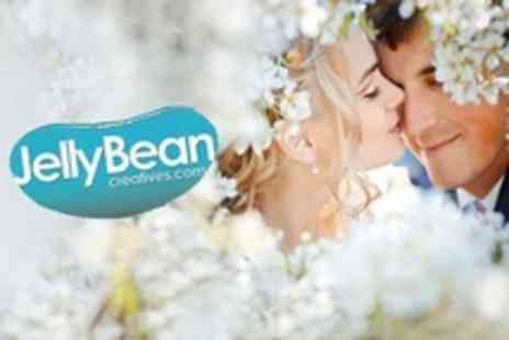 JellyBean Creatives - Wedding Photography Package With Make Up and Image DVD - Save 60%