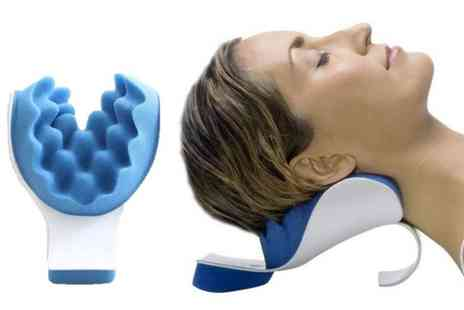 HONGKONG HUALIANDA - Head and neck posture support pillow - Save 45%