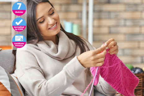 International Open Academy - Knitting for beginners CPD certified online course - Save 86%