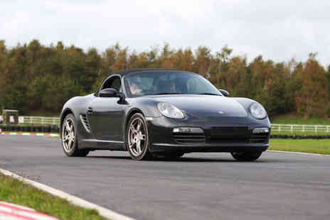 U Drive Cars - Three lap junior or adult driving experience in a Porsche Boxster - Save 51%