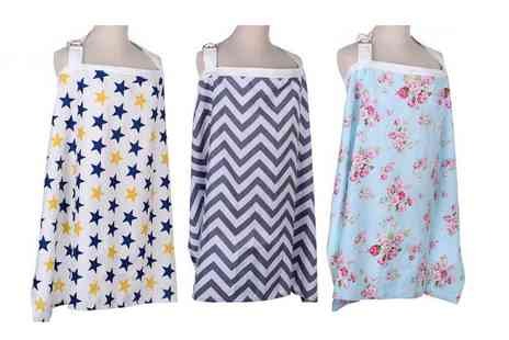 HONGKONG HUALIANDA - Breast feeding apron choose from six colours - Save 67%