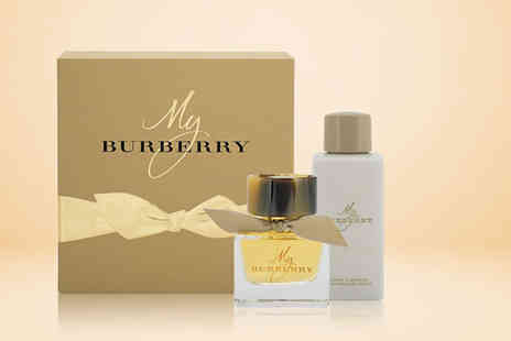 Wowcher Direct - 7ml Burberry Cat Lashes eye opening volume  mascara including a 50ml EDP and 75ml body lotion - Save 0%
