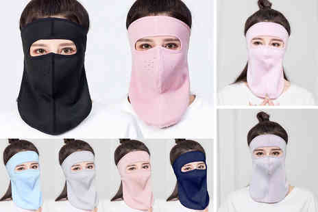 Domo Secret - Unisex full face neck cover choose from six colours - Save 75%