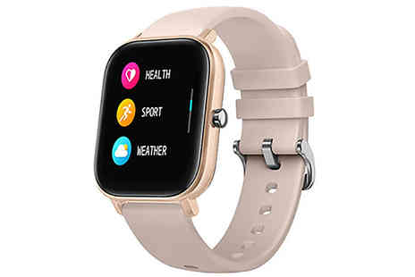 Fantasy Supply - Fitness Tracker and Blood Pressure Smart Watch Choose from 5 Colours - Save 69%