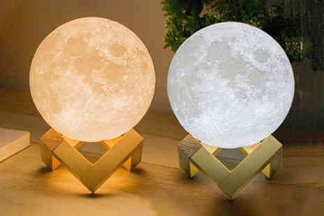 Arther Gold - 3D moon lamp - Save 0%