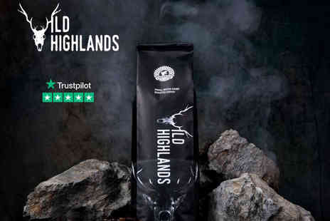 Wild Highlands Coffee - Your choice of three bags of Luxury - Save 49%