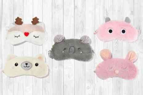 HONGKONG HUALIANDA - Plush animal sleep mask - Save 70%