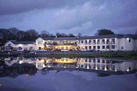 Lakeside Manor Hotel - 1 to 3 Nights for Two with Breakfasts - Save 56%