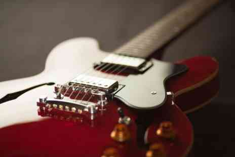 Virgin Experience Days - Learn the Guitar with One 1:2:1 Live Online Lesson - Save 0%