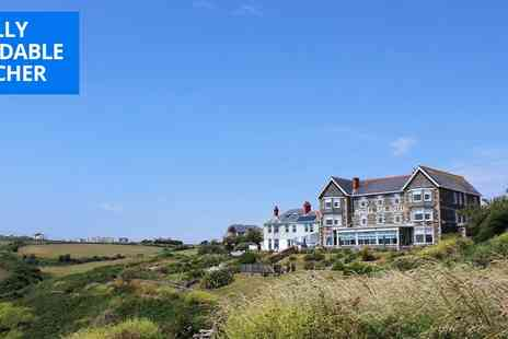 Housel Bay Hotel - Two nights clifftop stay inc cream tea - Save 49%