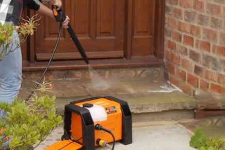 Groupon Goods Global GmbH - Compact Pressure Washer 1800W With Free Delivery - Save 15%