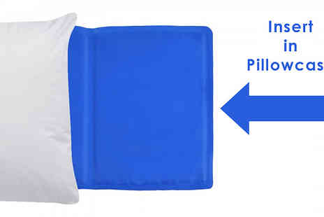 Fusion - Magic Cooling Gel Pillow Insert - Save 83%