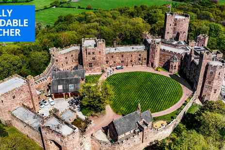 Peckforton Castle - Three courses and wine for Two - Save 39%