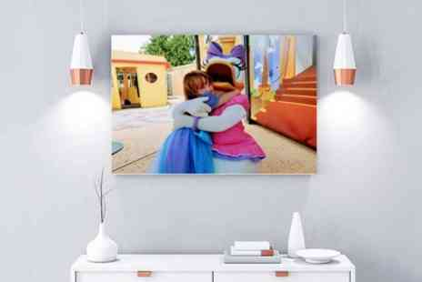 Gallery 51 - Large Personalised A0 photo canvas - Save 79%