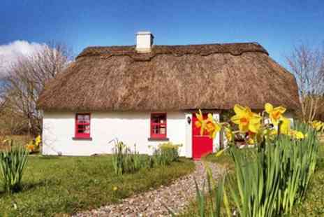 Lough Derg Thatched Cottages - 2 To 7 Nights for Six in Three Bedroom Cottage - Save 47%