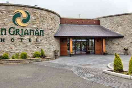 An Grianan Hotel - 1 or 2 Nights for Two with Full Irish Breakfast - Save 59%