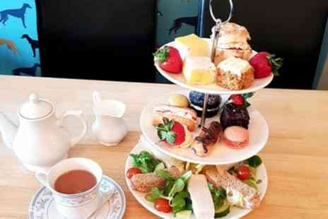 The Blue Whippet Cafe - Afternoon Tea for Up to Four People and Up to Four Dogs - Save 36%
