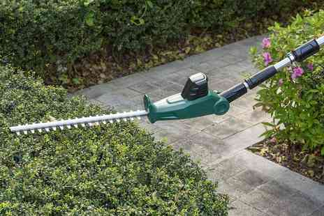 Direct Sourcing - Cordless telescopic hedge trimmer - Save 0%
