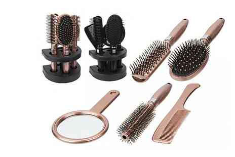 Avant Garde Brands - Five piece hair brush set - Save 0%