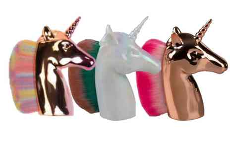 HONGKONG HUALIANDA - Pack of 3 unicorn fan brushes - Save 48%