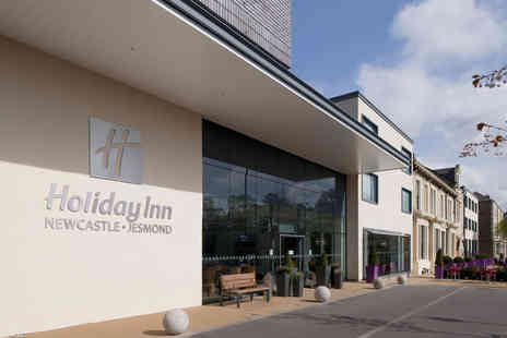 Holiday Inn Newcastle - Four Star Overnight Newcastle break for two people with a grab & go breakfast bag - Save 33%